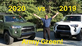 Compare 2020 4Runner TRD Pro vs 2019 4Runner TRD Pro - you pick your winner!