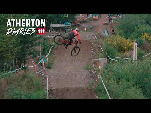 Atherton Diaries Ep 5: Fort William: DIY dislocation treatments, road-gaps and whips!