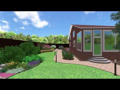 Ландшафтный дизайн: Проект озеленения участка 13 соток