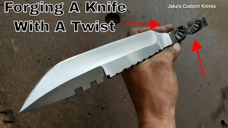 Forging A Knife From Chisel