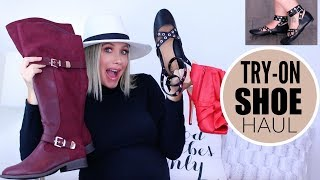AFFORDABLE FALL SHOE TRY-ON  HAUL 2018