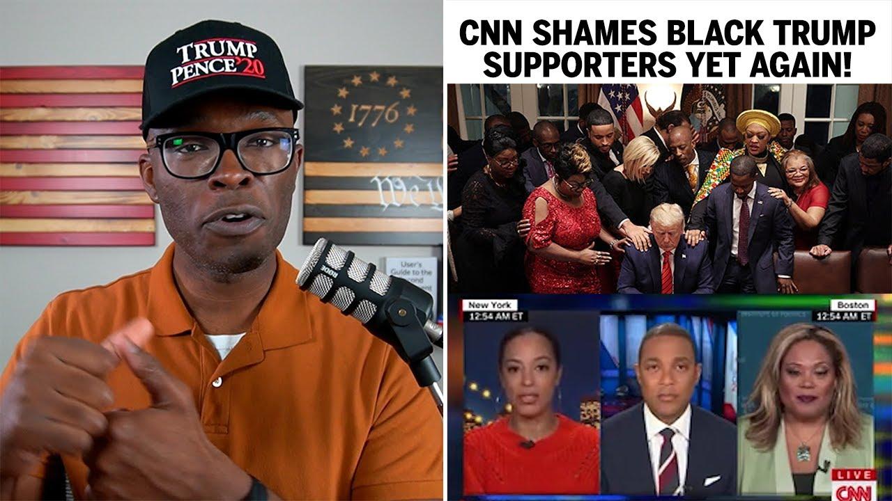 CNN Shames Black Trump Supporters LIVE ON AIR .. YET AGAIN!