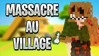 Massacre au Village - Court métrage minecraft  Horreur RP - HD 2019 - Kentra Show