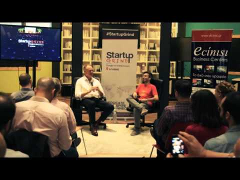 Startup Grind Athens Hosts Claus Rosenberg Gotthard (Book'n'Bloom)