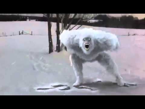 Action movie fx ice man with snow
