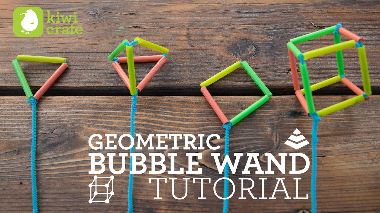 Kiwi Crate Project Instructions Bubble Wands Youtube