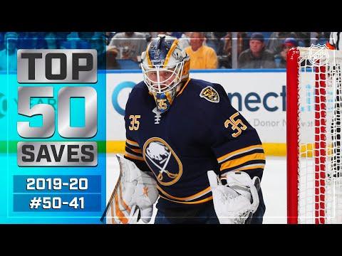 Top 50 Saves of the 2019-20 Regular Season: #50-41 | NHL