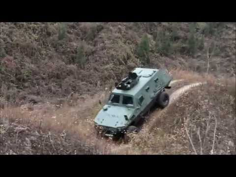 Chinese Wolf 4x4 light armoured vehicle personnel carrier Shaanxi Baoji Special Vehicles China