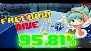 Roblox Robeats - Freedom Dive (Normal) Rank A+ 95.81%