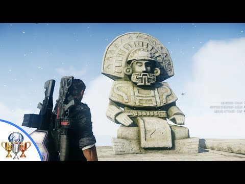 Just Cause 4 - All 12 Ancient Statue Locations - Show Me the Way Trophy / Achievement
