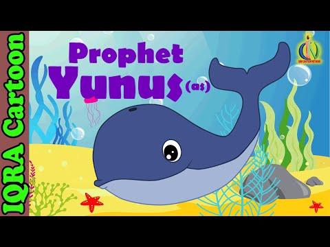 Jonas et la baleine - dessins animés biblique