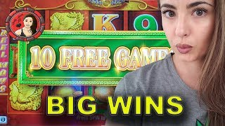 Big High Limit Wins on 88 Fortunes Slot Machine at Wynn Las Vegas & Cosmopolitan LV