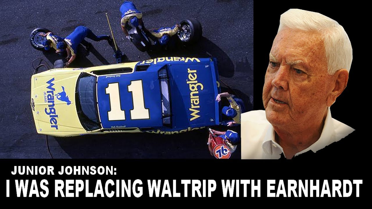 Junior Johnson Nearly Replaced Darrell Waltrip With Dale