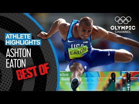 Best of Ashton Eaton - Olympic Decathlon | Athlete Highlights