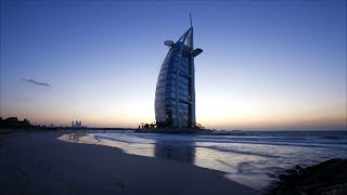Burj Al Arab Hotel Dubai Jumeirah Video Pictures of World Most Luxurious Hotel Beach Time Lapse View