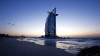 burj al arab hotel dubai jumeirah video pictures of world most luxurious hotel beach time lapse view