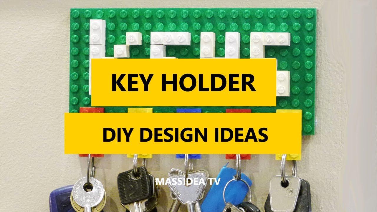 50+ Best Key Holder DIY Design Ideas for wall 2017 - YouTube