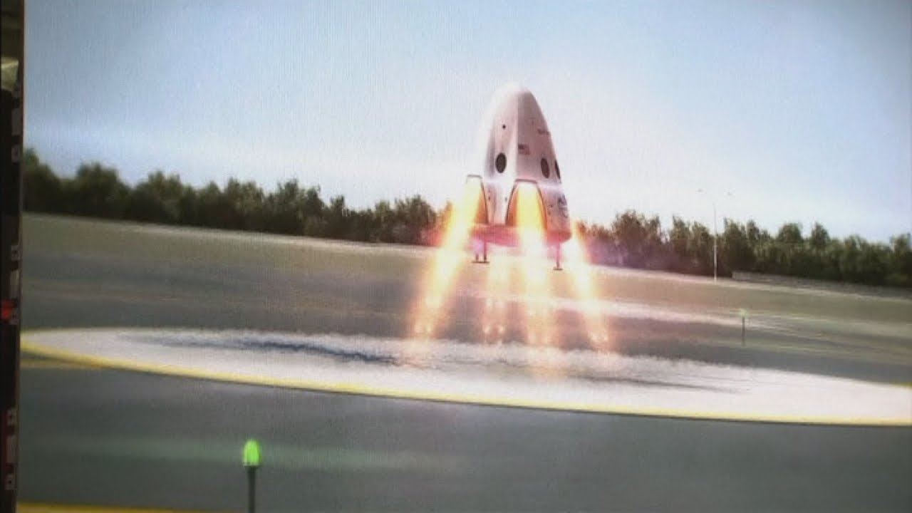 Take a Walk Through SpaceX's Crew Dragon Spaceship