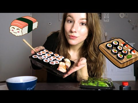 SUSHI MUKBANG! 🍣🍱 ∙ All About Leonie