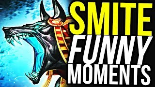 ANUBIS ULTIMATE IS FAIR! - SMITE FUNNY MOMENTS