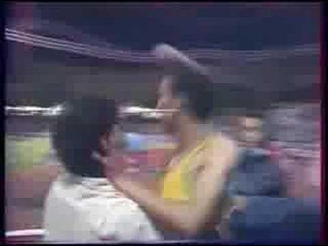 """Said Aouita, 4'50""""81 RM 2000m, París 16-7-1987"""