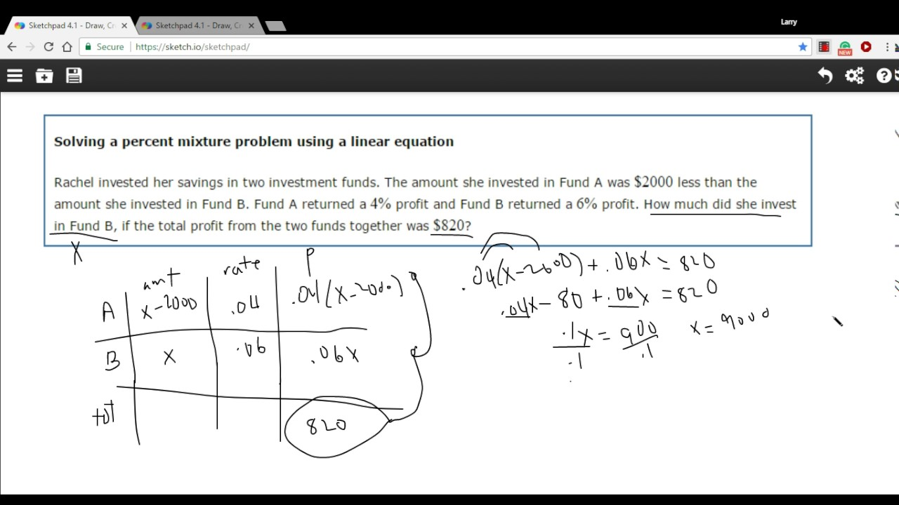 how to write a linear equation from a word problem