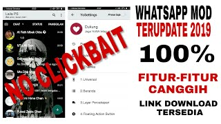 Gambar cover CARA DOWNLOAD WHATSAPP MOD