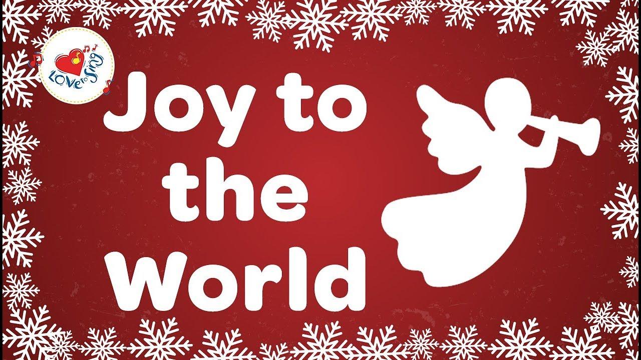 Joy to the World Christmas Carol with Lyrics 2019 - YouTube