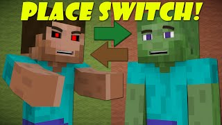If Players And Zombies Switched Places - Minecraft