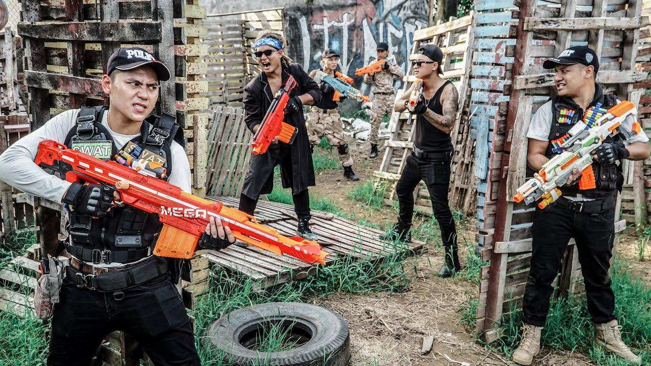LTT Game Nerf War : Detachment Of Revenge Warriors SEAL X Nerf Guns Fight Criminal Mr Zero Crazy 2