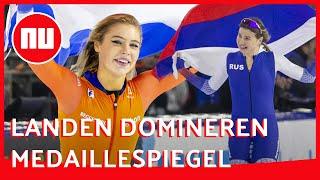 'EK afstanden in Thialf was als interland tussen Nederland en Rusland' | Nabeschouwing | NU.nl