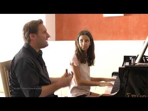 Poros Piano Academy 2017 - Mozart Master Class - Philippe Raskin