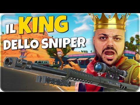 IL KING dello Sniper !!! SOLO vs DUO HEADSHOT E KILL ASSURDE [Nuova Modalità] - FORTNITE ITA
