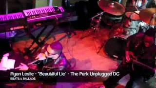 The Park Unglugged: Ryan Leslie Performs ''Beautiful Lie''
