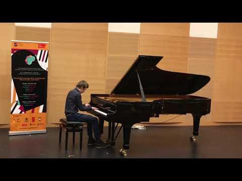 Даниил Миллер - III Московский Международный конкурс пианистов Владимира Крайнева, 2019г.