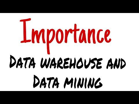 Data Warehouse And Data Mining Important For Comps Mumbai University