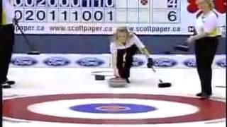 Jennifer Jones Best Curling Shot!(Интересные моменты из мира спорта заставят переживать за спортсменов во всех видах: бокс, бои без правил,..., 2014-02-20T16:12:21.000Z)