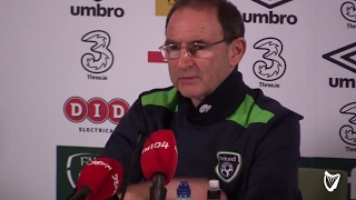 VIDEO: Ireland manager Martin O'Neill on Seamus Coleman injury