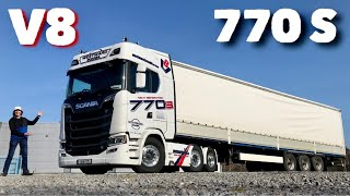 New SCANIA 770 S V8 Loaded Test Drive Truck Review - The New King of the Road?