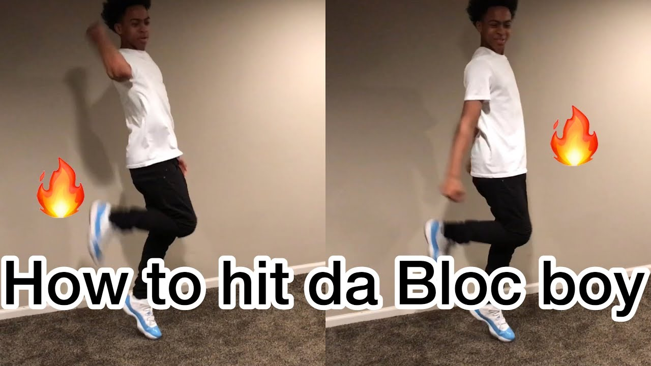 HOW TO DO THE BLOC BOY JB ( SHOOT DANCE ? )