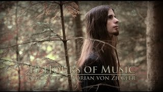 Repeat youtube video 10 Hours of Music by Adrian von Ziegler
