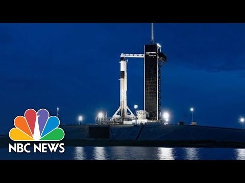Watch: SpaceX Launches Inspiration4 All-Civilian Crew Into Orbit