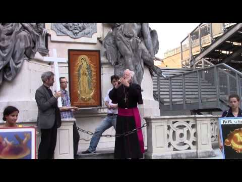 """Salzburg: Gebetszug """"1000 Kreuze für das Leben"""" am 25.07.2014"""