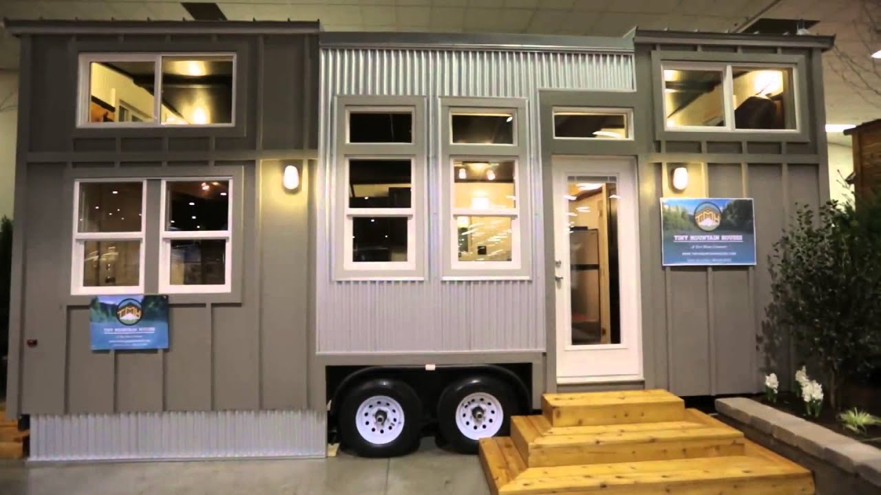 Tiny Mountain Houses Can be Constructed in Four Weeks Tiny House