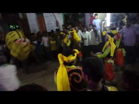 Bellaguntha Thakurani yatra special Tiger Dance and Bull Dance....