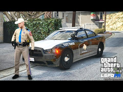 LSPDFR #532 TEXAS STATE TROOPER PATROL!! (GTA 5 REAL LIFE POLICE PC MOD)