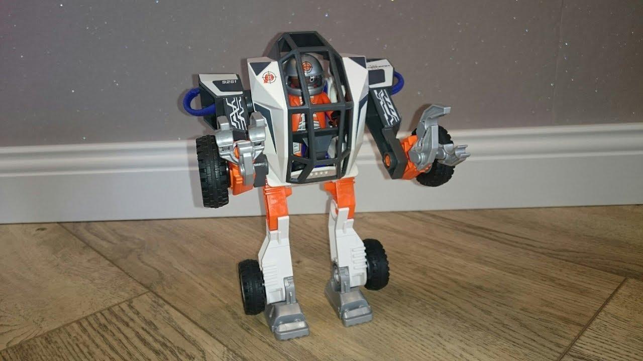 playmobil top agents roboter agent tec's mech tec