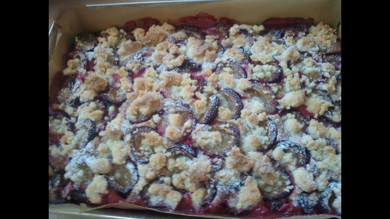 Ciasto Ze śliwkami Część 1 Kuchniarenaty