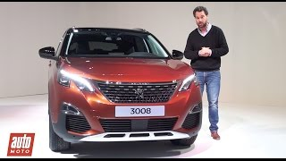 2016 Peugeot 3008 2 : découverte en vidéo du nouveau SUV (prix, moteurs, habitacle, design...)