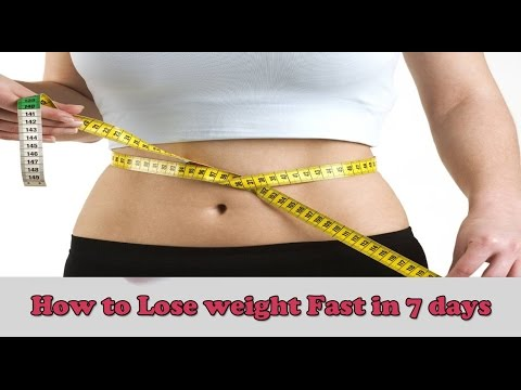 How to lose weight fast in 7 days(Hindi) | Instant Belly fat loss Home Remedy
